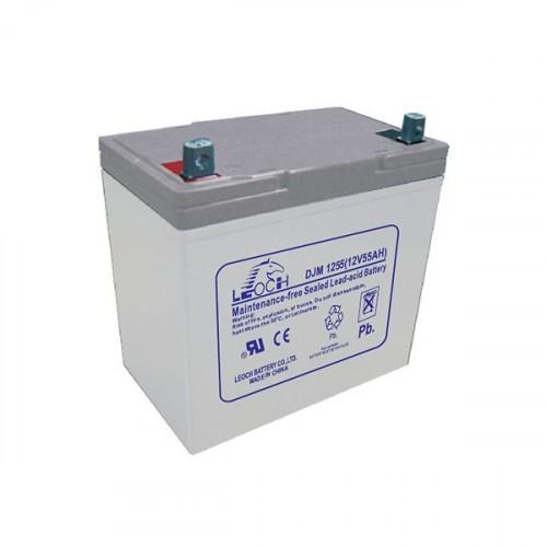 Аккумулятор LEOCH DJM1255 Номинальное напряжение - 12 В,  Номинальная ёмкость - 55 Ач, Технология - AGM, Вес - 16,2 кг, Размеры - 229 мм (длина), 138 мм (ширина), 205 мм (высота).