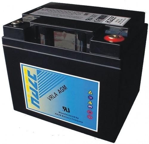 Аккумулятор HAZE HZB12-44 Номинальная ёмкость - 44 Ач, Технология - AGM, Вес - 13,6 кг, Размеры - 197 мм (длина), 165 мм (ширина), 170 мм (высота)