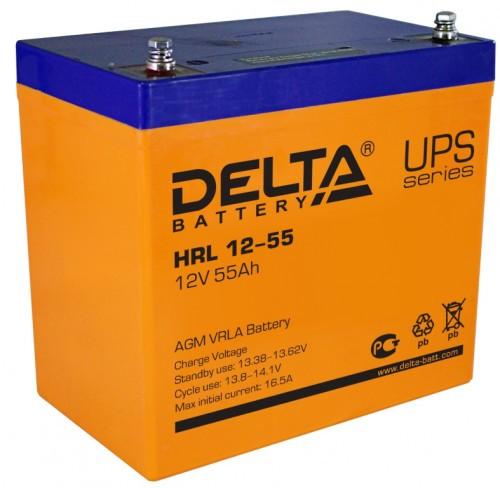 Аккумулятор DELTA HR 12-55 L Номинальная ёмкость - 55 Ач, Номинальное напряжение - 12 В, Технология - AGM, Срок службы до 12 лет, Вес - 19 кг, Размеры - 229 мм (длина), 138 мм (ширина), 208 мм (высота).