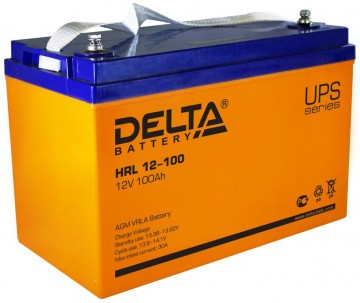 Аккумулятор DELTA HR 12-100 L
