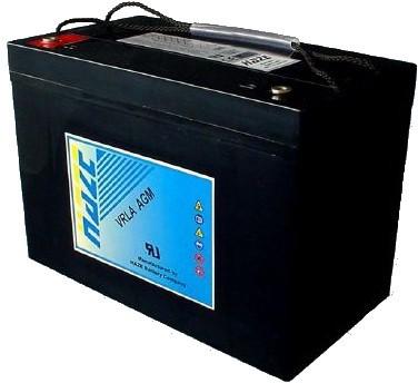 Аккумуляторная батарея Haze HZB12-100 Номинальная ёмкость - 100 Ач,  Технология - AGM,  Вес - 29 кг,  Размеры - 305 мм (длина), 168 мм (ширина), 208 мм (высота)