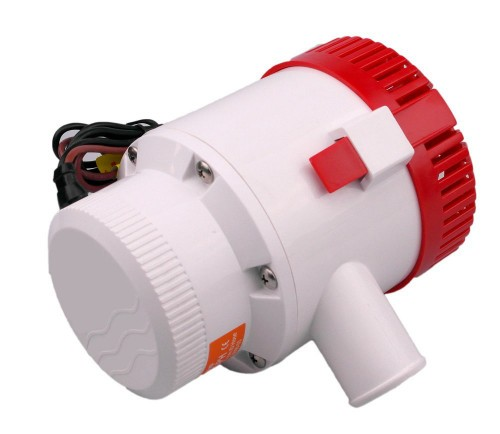 Погружной насос SFBP1-G3500-01 12 вольт Рабочее напряжение - 12 В,  Производительность  -12950 л/час Высота водяного столба (М) - 3 м м Вес с упаковкой (брутто) - 2.38 кг Вес без упаковки (нетто) -2.11 кг Провода (М) - 1 м