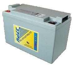 Аккумулятор Haze HZY12-100 (гелевый HZY 12-100) Номинальная ёмкость - 100 Ач, Технология - GEL, Вес - 28.4 кг, Размеры - 305 мм (длина), 168 мм (ширина), 208 мм (высота)