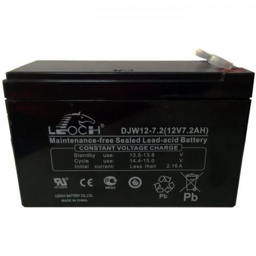 Аккумулятор LEOCH DJW 12-7.2 F2 Номинальное напряжение - 12 В,  Номинальная ёмкость - 7 Ач, Технология - AGM, Срок службы до 8 лет,  Вес - 2.36 кг, Размеры - 151 мм (длина), 65 мм (ширина), 94,5 мм (высота).
