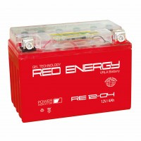 Аккумулятор для мототехники RED ENERGY RE 12-04 (YB4L-B, YB4L-A, YTX4L-BS)