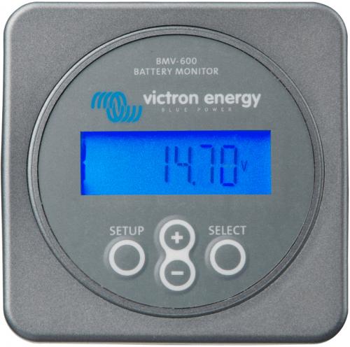 BMV 600s Монитор состояния АКБ с функцией CАП Монитор АКБ, САП Напряжение: 12/24/48В