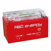 Аккумулятор для мототехники RED ENERGY RE 12-07 (YTX7A-BS)