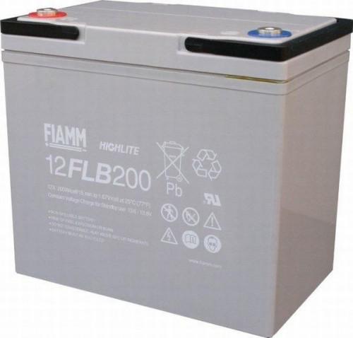 Аккумулятор FIAMM 12 FLB 200 P Номинальное напряжение - 12 В, Номинальная ёмкость - 55 Ач, Технология - AGM, Срок службы до 12 лет, Вес - 19 кг, Размеры - 229 мм (длина), 138 мм (ширина), 212 мм (высота).