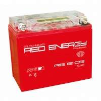 Аккумулятор для мототехники RED ENERGY RE 12-09 (YTX9-BS, YTX9)