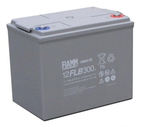 Аккумулятор FIAMM 12 FLB 300 P Номинальное напряжение - 12 В, Номинальная ёмкость - 80 Ач, Технология - AGM, Срок службы до 12 лет, Вес - 27 кг, Размеры - 261 мм (длина), 174 мм (ширина), 218 мм (высота).