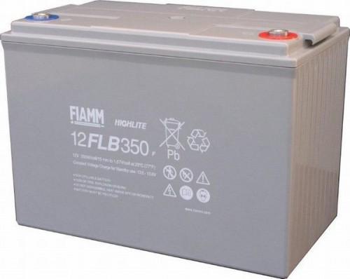 Аккумулятор FIAMM 12 FLB 350 P Номинальное напряжение - 12 В, Номинальная ёмкость - 95 Ач, Технология - AGM, Срок службы до 12 лет, Вес - 30 кг, Размеры - 302 мм (длина), 174 мм (ширина), 218 мм (высота).
