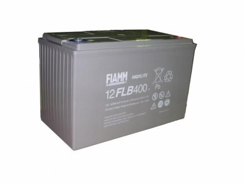 Аккумулятор FIAMM 12 FLB 400 P Номинальное напряжение - 12 В, Номинальная ёмкость - 105 Ач, Технология - AGM, Срок службы до 12 лет, Вес - 34 кг, Размеры - 341 мм (длина), 174 мм (ширина), 218 мм (высота).