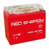 Аккумулятор для мототехники RED ENERGY RE 12-12.1 (YT12B-BS)