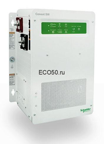 Инвертор Schneider Electric CONEXT SW2524 230 Мощность: 2,5 кВт, Мощность макс.: 5 кВт, Синусоида: чистый синус, Напряжение: 24 В ↔ 220 В