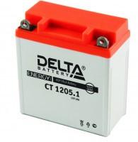 Аккумулятор для мототехники DELTA CT 1205.1 12В 5Ач (12N5-3B, YB5L-B)