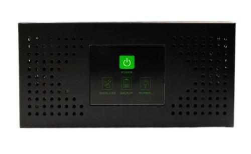 Exmork NR-Y300W LCD DC12 Номинальная мощность - 300 ватт, Выход - 220В 50 Гц, Напряжение на АКБ - 12В, Чистый синус