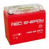 Аккумулятор для мототехники RED ENERGY RE 12-201 (YTX20L-BS, YTX20HL-BS, YB16L-B,  YB18L-A)