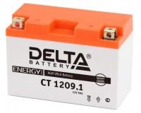 Аккумулятор для мототехники DELTA CT 1209.1  12В 9Ач (YT9B-BS)