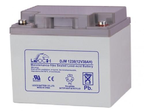 Аккумулятор LEOCH DJM1238 Номинальное напряжение - 12 В,  Номинальная ёмкость - 38 Ач, Технология - AGM, Вес - 13,2 кг, Размеры - 197 мм (длина), 165 мм (ширина), 170 мм (высота).