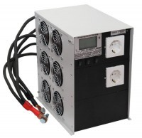 Инвертор ИС1-24-6000 ЖК-экран 6000Вт/24В чистый синус