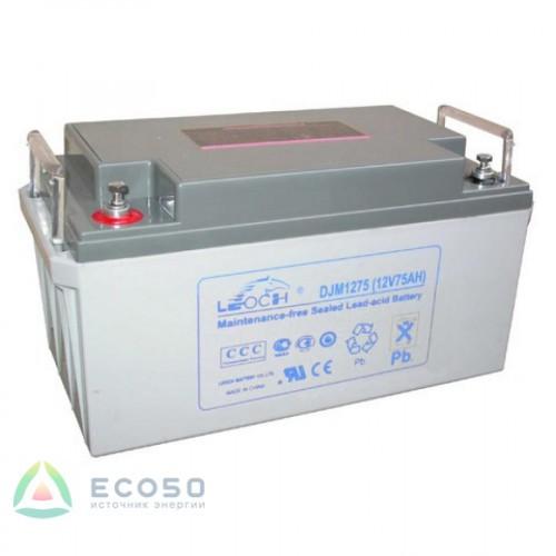Аккумулятор LEOCH DJM1275 Номинальное напряжение - 12 В,  Номинальная ёмкость - 75 Ач, Технология - AGM, Вес - 24 кг, Размеры - 348 мм (длина), 167 мм (ширина), 178 мм (высота).