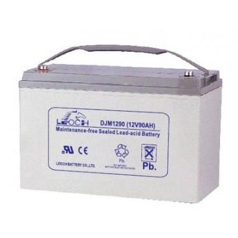 Аккумулятор LEOCH DJM1290 Номинальное напряжение - 12 В,  Номинальная ёмкость - 90 Ач, Технология - AGM, Вес - 28 кг, Размеры - 330 мм (длина), 173 мм (ширина), 212 мм (высота).