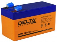 Аккумулятор DELTA DTM 12012