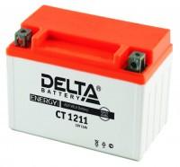 Аккумулятор для мототехники DELTA CT 1211 12В 11Ач (YTZ12S, YTZ14S)