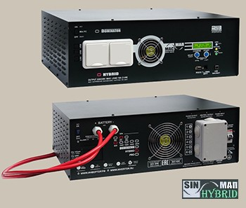 Инвертор МАП SIN Энергия HYBRID 48В 15кВт Максимальная мощность - 15000 Вт, Номинальная мощность - 10000 Вт, Пиковая мощность - 19000 Вт, Напряжение - 48 В, Зарядный ток - 125 А, КПД - 96%, Вес - 55 кг, Размеры - 210 мм (высота), 410 мм (длина), 560 мм (ширина).