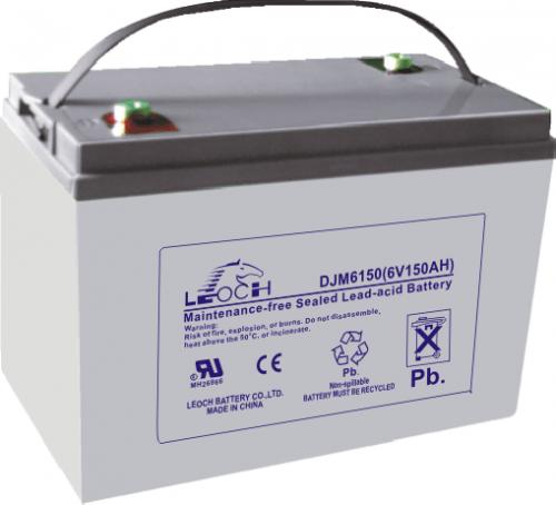 Аккумулятор LEOCH DJM6150 Номинальное напряжение - 6 В,  Номинальная ёмкость - 150 Ач, Технология - AGM, Вес - 21,2 кг, Размеры - 260 мм (длина), 180 мм (ширина), 247 мм (высота).