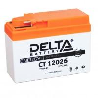 Аккумулятор для мототехники DELTA CT 12026 12В 2,5Ач (YTR4A-BS)