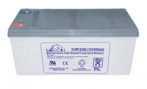 Аккумулятор LEOCH DJM12200 Номинальное напряжение - 12 В,  Номинальная ёмкость - 200 Ач, Технология - AGM, Вес - 65 кг, Размеры - 522 мм (длина), 240 мм (ширина), 218 мм (высота).