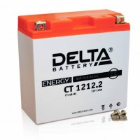 Аккумулятор для мототехники DELTA CT 1212.2 12В 14Ач (YT14B-BS)