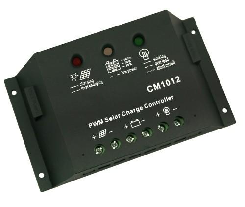 Контроллер JUTA CM15 10A 12V/24V auto switch Номинальное напряжение -  12V/24 Вольт Максимальный ток на входе - 10 А Мощность подключаемых солнечных батарей - 120 ватт (12В), 240 ватт (24В)