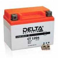 Аккумулятор для мототехники DELTA CT 1204 12В 4Ач (YB4L-B, YB4L-A, YTX4L-BS)