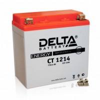Аккумулятор для мототехники DELTA CT 1214 12В 14Ач (YTX14-BS, YTX14H-BS, YTX16-BS, YB16B-A)
