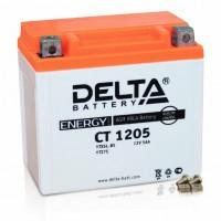 Аккумулятор для мототехники DELTA CT 1205 12В 5Ач (YTX5L-BS, YT5L-BS, YTZ7S)