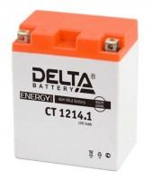 Аккумулятор для мототехники DELTA CT 1214.1 12В 14Ач (YB14-BS, YTX14AH, YTX14AH-BS)