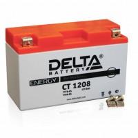 Аккумулятор для мототехники DELTA CT 1208 12В 8Ач (YT7B-BS, YT7B-4, YT9B-BS)
