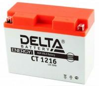 Аккумулятор для мототехники DELTA CT 1216 12В 16Ач (YB16AL-A2)