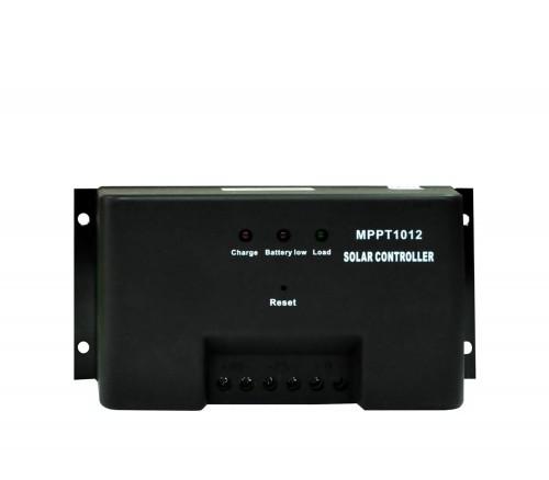 Контроллер JUTA MPPT 10A 12V Номинальное напряжение -  12 Вольт Максимальный ток на входе - 10 А Мощность подключаемых солнечных батарей - 120 ватт Технология MPPT