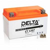 Аккумулятор для мототехники DELTA CT 1207 12В 7Ач (YTX7A-BS)