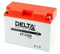 Аккумулятор для мототехники DELTA CT 1220 12В 20Ач (Y50-N18L-A3, YTX24HL-BS, YTX24HL)