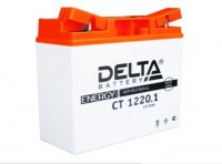Аккумулятор для мототехники DELTA CT 1220.1 12В 20Ач (YT19BL-BS)