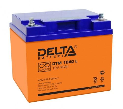 Аккумулятор DELTA DTM 1240 L Номинальная ёмкость - 40 Ач, Номинальное напряжение - 12 В, Технология - AGM, Срок службы до 12 лет, Вес - 14 кг, Размеры - 198 мм (длина), 166 мм (ширина), 170 мм (высота).