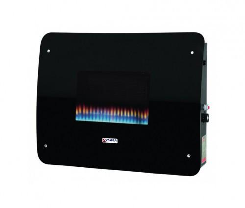 Газовый камин H5 Wall 4 LCD 7 kw Тепловая мощность: 7 кВт, Теплообменник: стальной, Способ установки: настенный, Тип топлива: природный газ