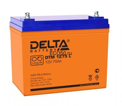 Аккумулятор DELTA DTM 1275 L Номинальная ёмкость - 75 Ач, Номинальное напряжение - 12 В, Технология - AGM, Срок службы до 12 лет, Вес - 24 кг, Размеры - 258 мм (длина), 166 мм (ширина), 206 мм (высота).