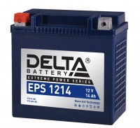 Аккумулятор для мототехники DELTA EPS 1214 (YTX14-BS, YTX14H-BS)