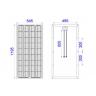 Солнечная батарея Delta SM 100-12M 100 Ватт 12В Моно - Солнечная батарея Delta SM 100-12M 100 Ватт 12В Моно