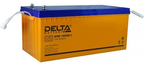 Аккумулятор DELTA DTM 12200 L Номинальная ёмкость - 200 Ач, Номинальное напряжение - 12 В, Технология - AGM, Срок службы до 12 лет, Вес - 65,5 кг, Размеры - 522 мм (длина), 238 мм (ширина), 218 мм (высота).